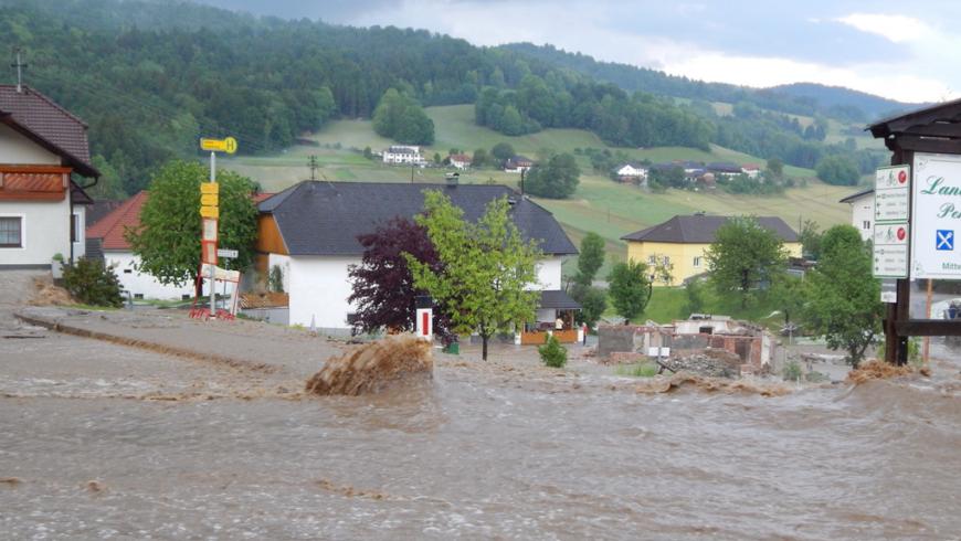 Unwetter Julbach