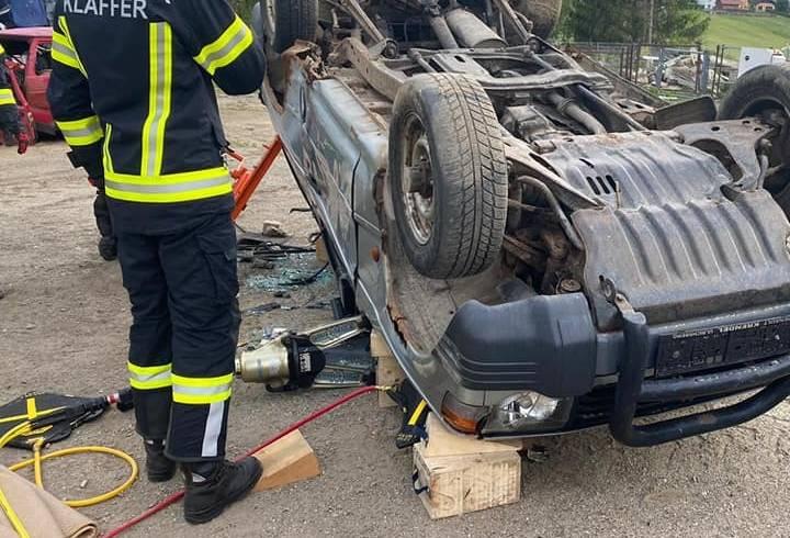 Interne Übung Verkehrsunfall
