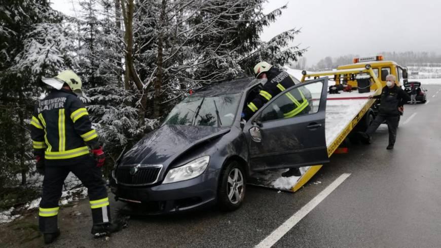 Verkehrsunfall Pfaffetschlag