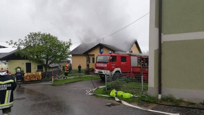 Brand Wohnhaus Ulrichsberg